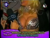 big breasted argentina showgirl