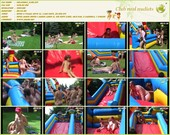 Inflatable Slide - naturists movie