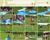 Slide in the Summer - naturists movie