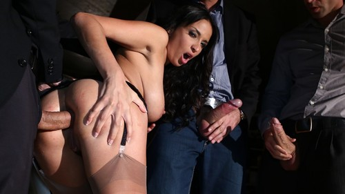 """[DorcelClub.com / Dorcel.com] Anissa Kate, James Brossman, Totti, Renato, Mike Angelo - ANISSA GAVE HERSELF TO 3 MEN IN FRONT OF HER HUSBAND IN A PARKING LOT / ANISSA OFFERTE À 3 MECS PAR SON MARI DANS UN PARKING - ID: 6499 - Scene from the Movie: """"Pornochic 25″ (Hervé Bodilis, Marc Dorcel) [February 20, 2015 / Anal Sex, ATM/Ass To Mouth, Big Natural Tits, Brunettes, North African, French Porn, Condoms, Cum In Mouth, Cum on Ass, Facial Cumshots, Gang-Bang, Hardcore, High Heels, Stockings, Lingerie / Full HD Video / 1080p] nu4zsuh1gmeh"""