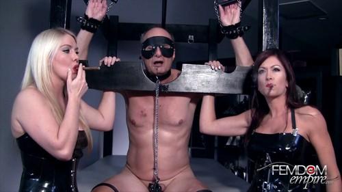FemDom Empire - Deanna Storm, Lexi Sindel - Cigar Smoke Slavery