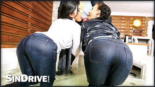 [Sexinjeans.com / SinDrive.com] Amel Annoga, Cecilia de Lys and Bruno SX - Bienvenue Chez Sindrive, Amel Annoga! Delicious Denim Demolition With Cecilia De Lys & Nasty Bruno - ID: 230 (Roma Amor, Ride Nyder, Eromaxx Films, Stiff Anger Production) [2015 / Anal Sex, ATM/Ass To Mouth, Brunettes, Caucasian/White, French, Cum In Mouth, Cum Swapping, Deepthroat, FFM/Female-Female-Male, Hardcore, Threesomes/Threeways, Jeans & Denim, Ripped Clothes, ATOGM / Full HD Video / 1080p] x5o4e6ce7894