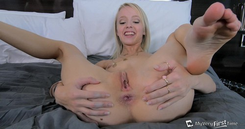 [MyVeryFirstTime.com] Sierra Nevadah - My Very First Anal [2015 / Anal Sex, Blondes, Slim/Slender, Small/Petite, Caucasian/White, Anal Creampies, Hardcore, Casting, Interview, Barefoot, Shaved Pussy, Teenagers/Teens/Young Girls, Toys, Vibrators, USA/American Porn, First Anal / Full HD Video / 1080p] yicfiku3kbv4