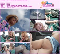 Sasha Blonde - Do you want to trip with me - porn in car 2010