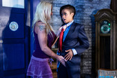 Leya Falcon & Skin Diamond - Skins Lesbian Dr Who Anal With Leya