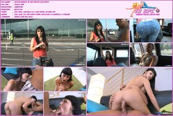 Moisex stepped forward and took her away - Aletta Ocean porn in minibus